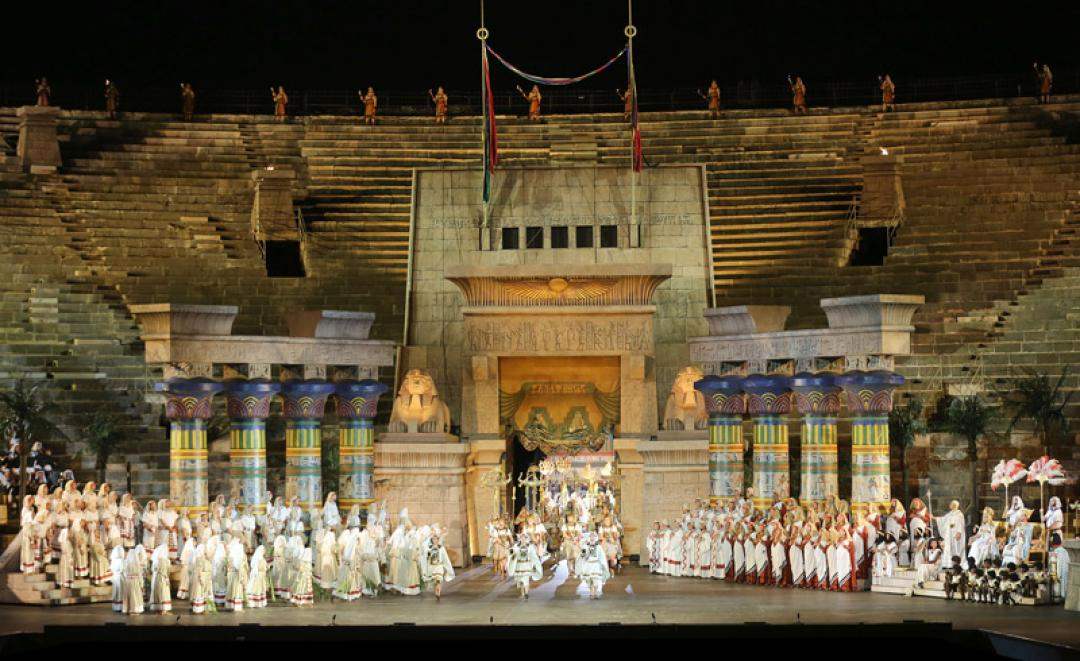 events, opera in Arena and  international trade fairs